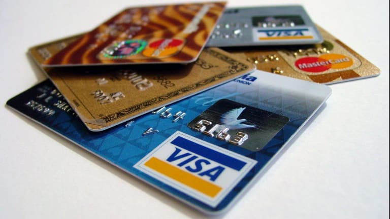 Multiple credit card applications will drive down your credit rating.