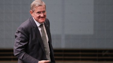 Ian Macfarlane's career as a serious contributor in the national Parliament is over.