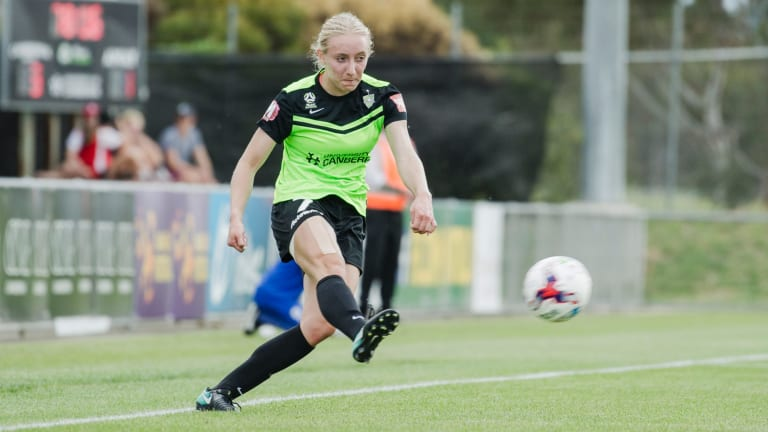 Canberra United striker Nicky Flannery is out for the rest of the season.