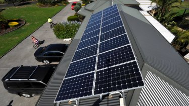 Solar panel installations are soaring in the US.