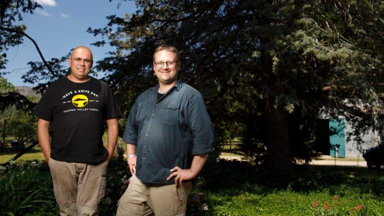 Mark Toogood and Karim Haddad.