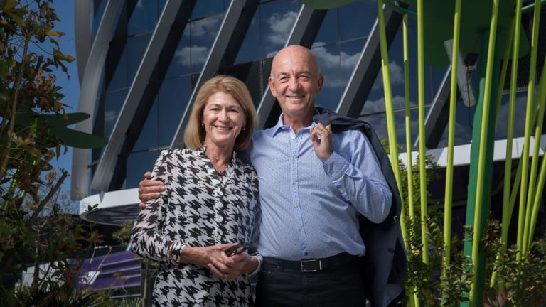 Christine and Bruce Wilson made a $5.5 million donation to the centre.