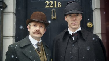 Benedict Cumberbatch and Martin Freeman star in Sherlock– intelligent entertainment, that's hard to beat.
