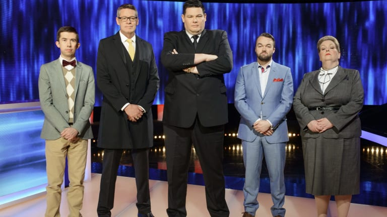 The cast of <i>The Chase Australia</i>