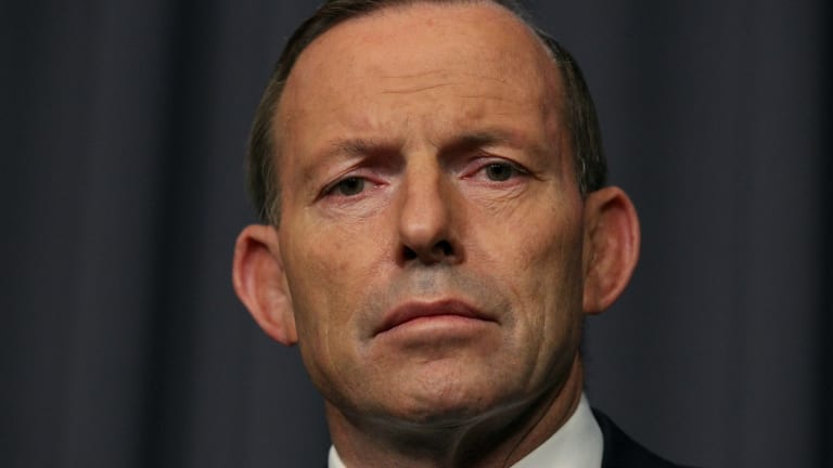 Mr Abbott spoke with Ms Bishop several times throughout the night.