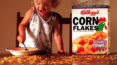 Kellogg said it made the decision after a review of where its ads were appearing.