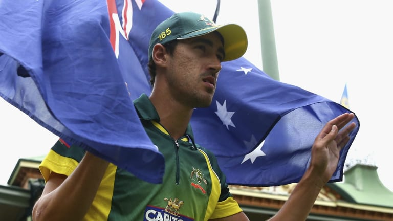Not-so secret weapon: Australian fast bowler Mitchell Starc.