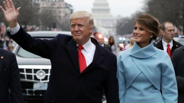 Some designers are delighted to dress First lady Melania Trump but others, less so, writes Marion Hume.