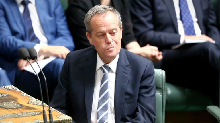 Opposition Leader Bill Shorten was accused of undermining ties with the US during question time but then returned fire.