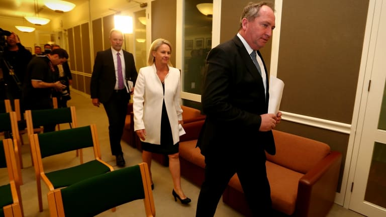 Deputy National Party leader Fiona Nash has criticised her party's performance on the election of women.