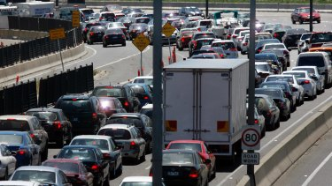 The budget contains $2 million planning money for further widening of the Monash Freeway.