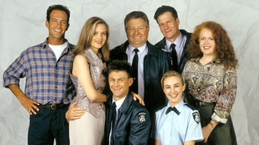 Blue Heelers, one of the most successful Australian TV dramas of all time.