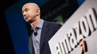 Strength to strength: Amazon founder Jeff Bezos.