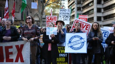 Opposition to WestConnex drew thousands to the city in protest on Sunday, May 29.