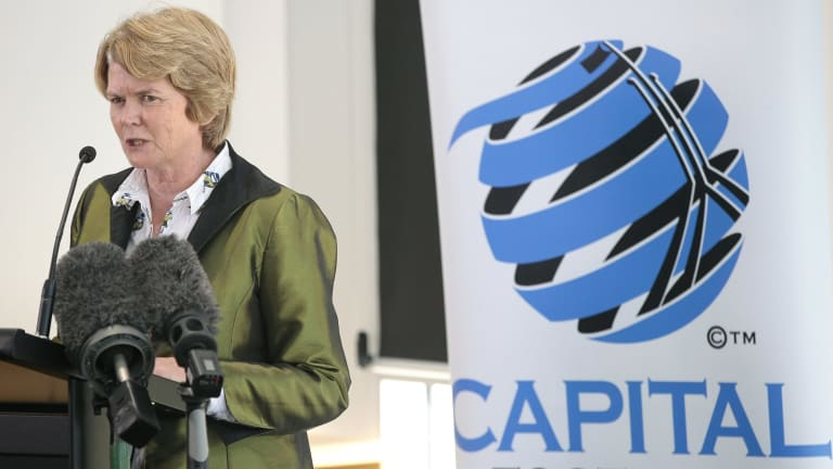Keen debate: Capital Football chief executive Heather Reid said some club presidents are against the idea of representative teams playing in the National Premier League.