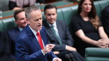 Bill Shorten will back only a Medicare levy rise for the top two tax brackets.