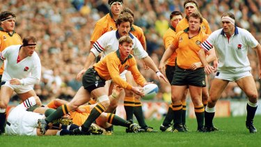 A Different Era But The Lessons Of 1991 Endure For 2015 World Cup Wallabies