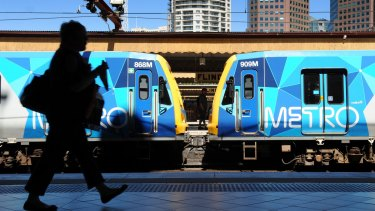 A technical breakdown has brought all display systems at Metro train stations across Melbourne to a halt.