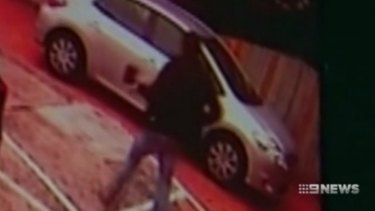 A man, alleged to be the attacker, was shown on CCTV carrying an axe shortly before the stabbing.