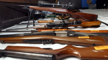 Australia's tough gun laws have been weakened by the states