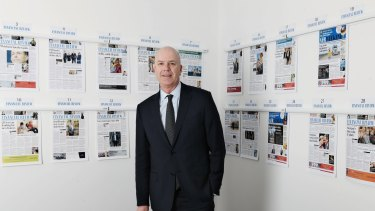 Fairfax Media chief executive Greg Hywood says the company is getting strong growth in Domain, which is closing the gap with larger rival REA.