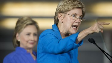 Senator Elizabeth Warren joins Hillary Clinton on the campaign trail. Could we see a two-woman Democrat ticket?
