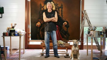 Bill Leak lost over $200,000 worth of artworks in a house fire four years ago.