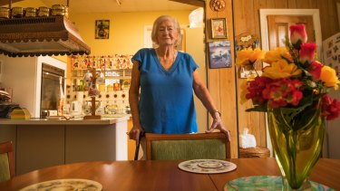 Eileen Collins, 88, has lived in her home on Eurimbla Avenue in Randwick for 46 years.