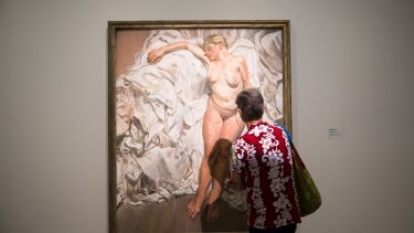 Nude opened at the Art Gallery of NSW this month.