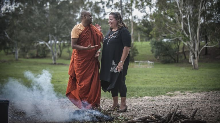 The housing in Kambah for the older Aboriginal and Torres Strait Islander residents will be built next to a Sri Lankan Buddhist temple.