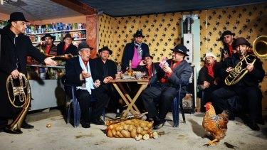 Romanian gypsy band Fanfare Ciocarlia.