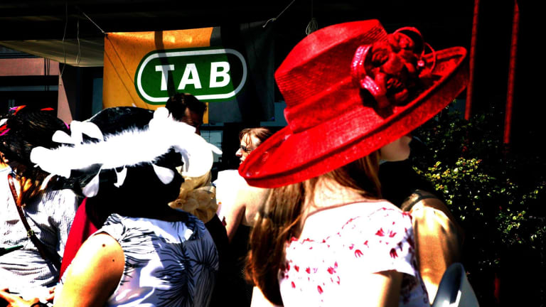 Behind the hats and suits of the spring racing carnival, gamblers are struggling and gambling advertisements are making matters worse.