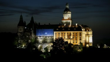 The Ksiaz castle in Walbrzych, south-western Poland, near where a Nazi train is believed to be buried.