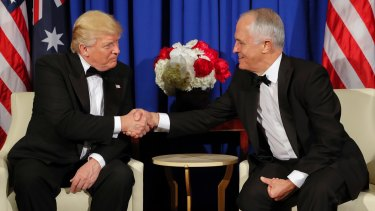 "Mr Trump accused Mr Turnbull of making him look like a ""dope"" and ""awfully bad"", ""killing"" him politically. Since the call, the two leaders have had several cordial meetings."