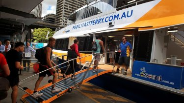 Manly Fast Ferries has the sole rights to operate fast ferries from Circular Quay to Manly.
