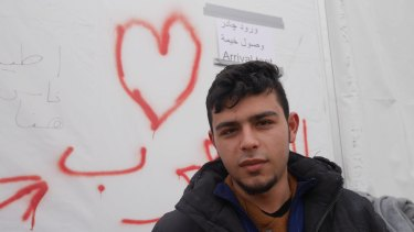 Syrian refugee Shade, 21.