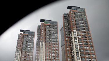 China still has big inventories of unsold homes.