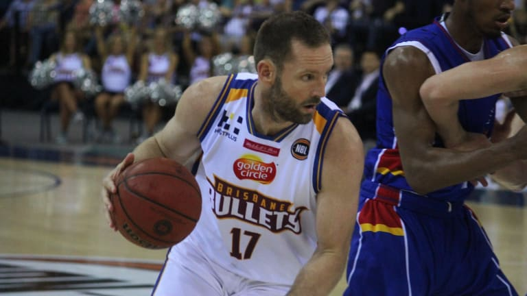 Brisbane forward Anthony Petrie tallied 12 points in the loss against his former side the Adelaide 36ers at the Brisbane Entertainment Centre on Thursday night.