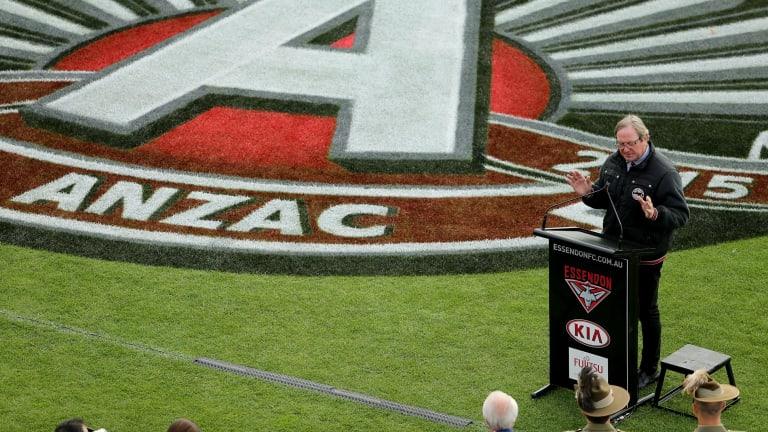 Source of pride:AFL legend Kevin Sheedy.