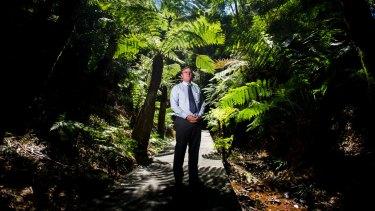 Australian National Botanic Gardens general manager Peter Byron.