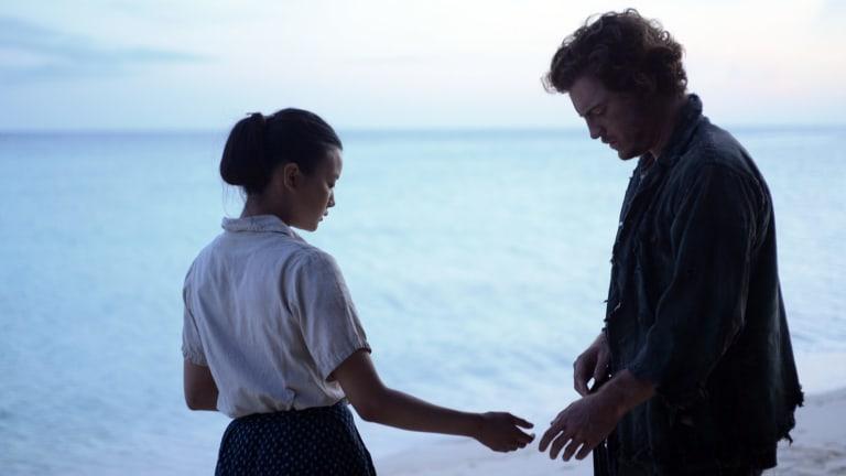 Brandon McClelland and Lisa Oda in Star Sand.