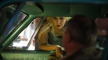 Maggie Gyllenhaal as sex worker Candy in The Deuce.