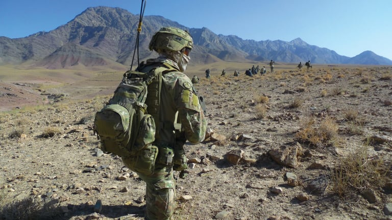 On Patrol In Afghanistan Coalition Forces Must Constantly Be On High Alert