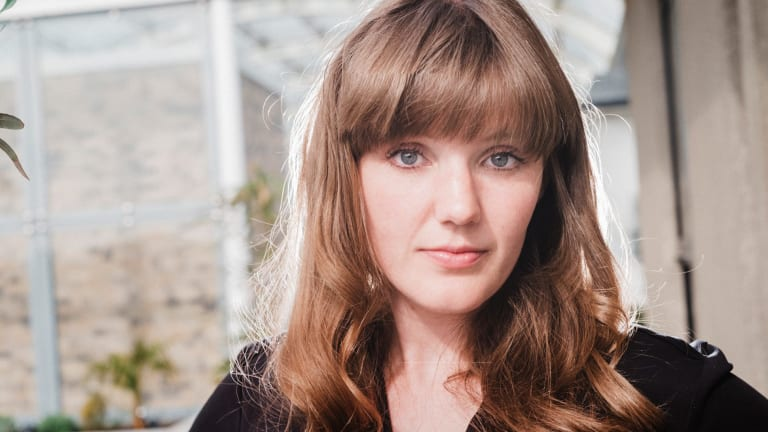Writer Emma Glass, whose debut novel <i>Peach</i> will be published in February.