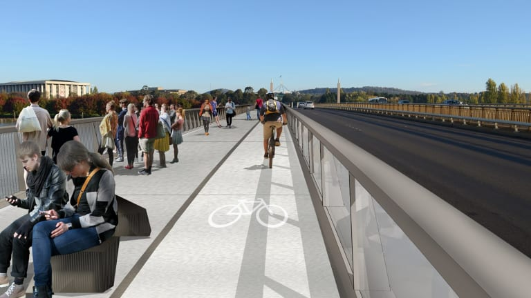 An artist's impression of how Commonwealth Avenue could look.