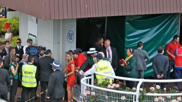 Admire Rakti's stall at Flemington.
