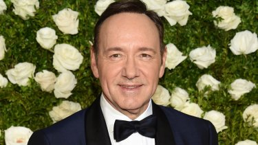 """Kevin Spacey at this year's Tony Awards. He said Rapp's accusation """"has encouraged me to address other things about my life""""."""