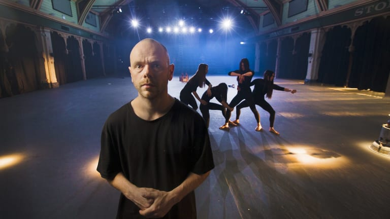 Choreographer Antony Hamilton's Nyx, which opens on Friday night, is one of the main dance premieres of the Melbourne Festival.