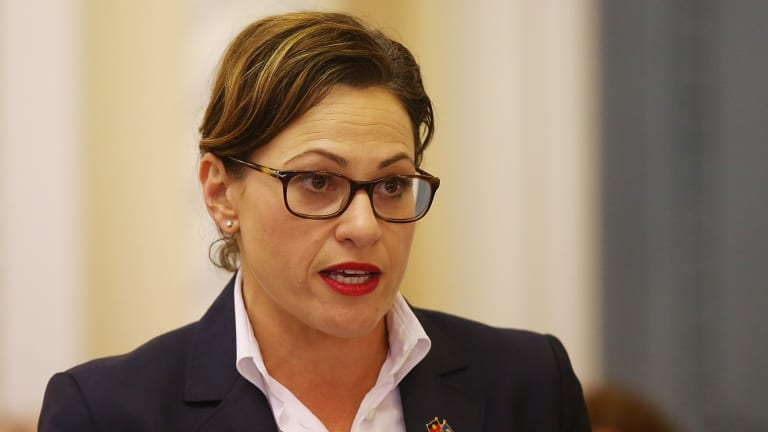 """Deputy Premier Jackie Trad says it's time state law """"treats pregnancy termination as a health issue, not a criminal issue""""."""