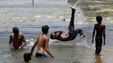 Record temperatures have scorched India in the past week, with the El Nino being partly to blame.